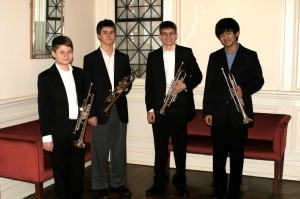 Left to Right: Jefferson Wenzel, Charlie Clarke, Alez Wenzel, and Jerry Sun